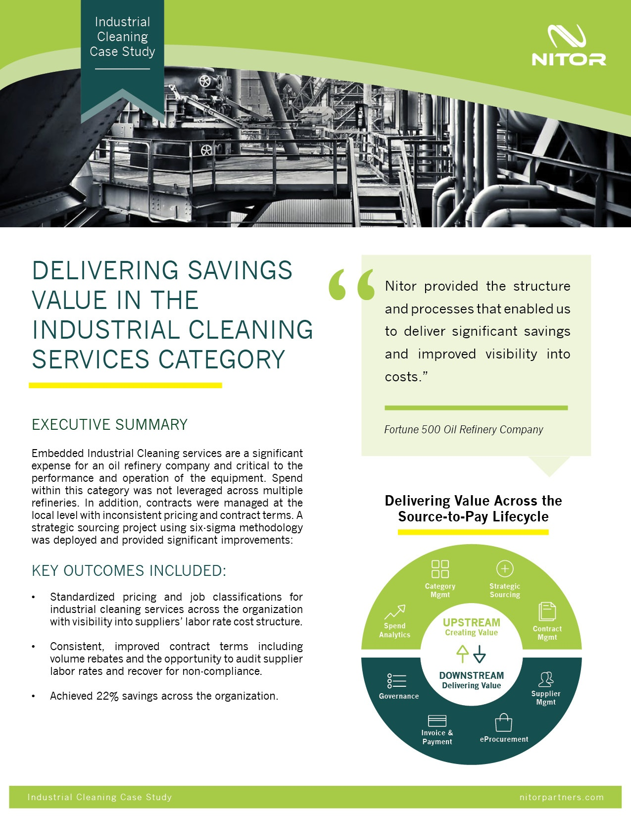 Nitor Strategic Sourcing Case Study Industrial Cleaning