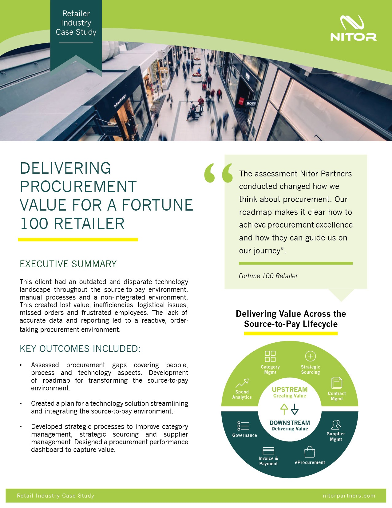 Nitor Procurement Case Study Retail Industry