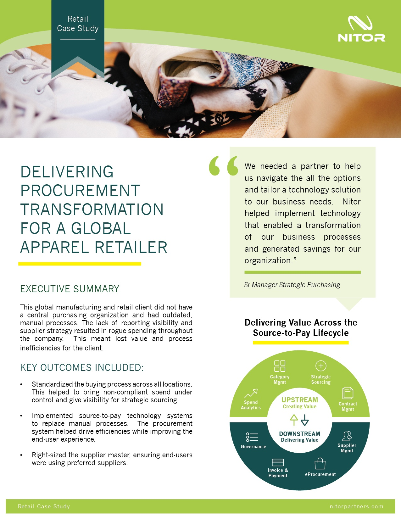 Nitor Procurement Case Study Retail Consumer Goods