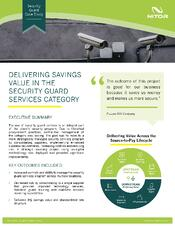 Nitor Strategic Sourcing Case Study Security Guard Services