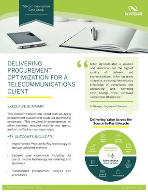 Nitor Procurement Case Study Telecommunications